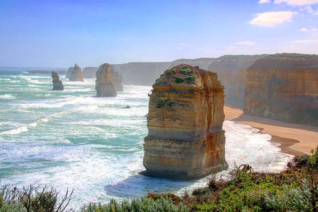 Koalas and storm on the Great Ocean Road