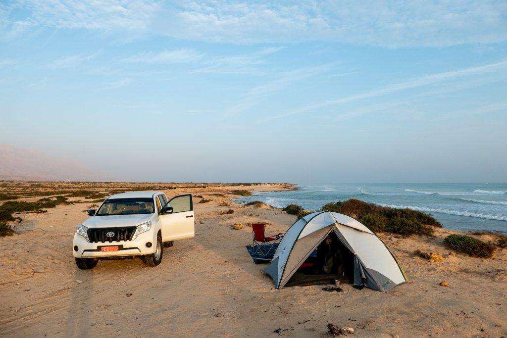 Reisroute Oman - wildkamperen