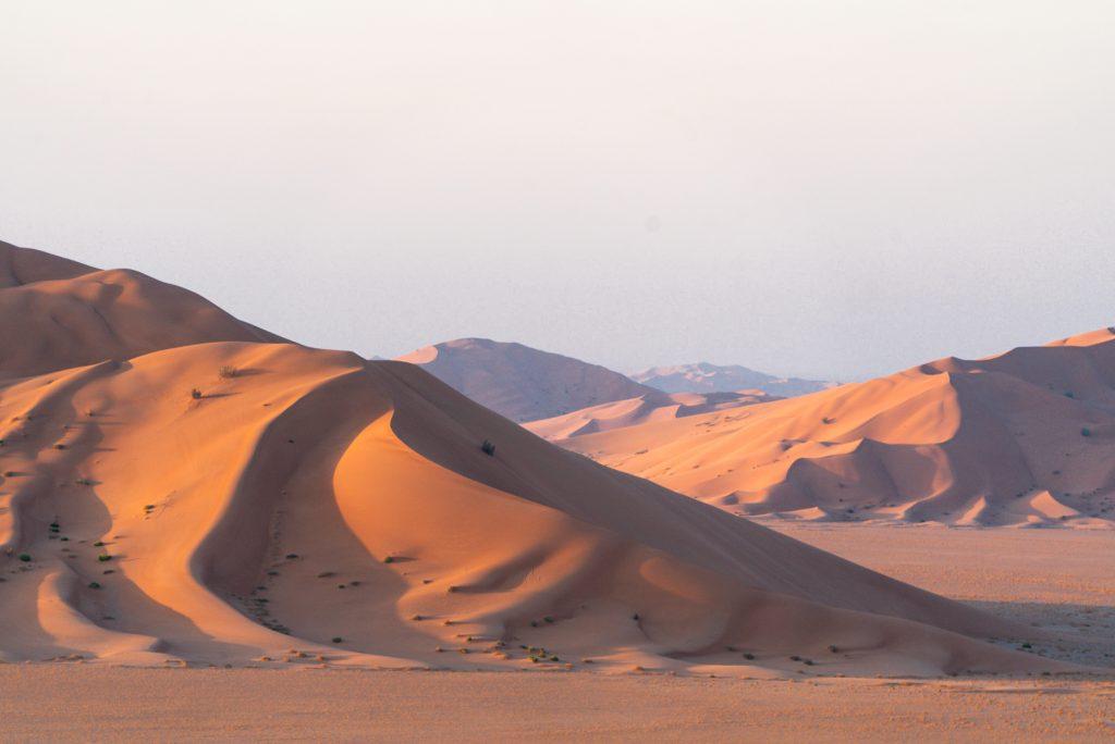 De Rub al Khali - Het Lege Kwartier - Ons kamp