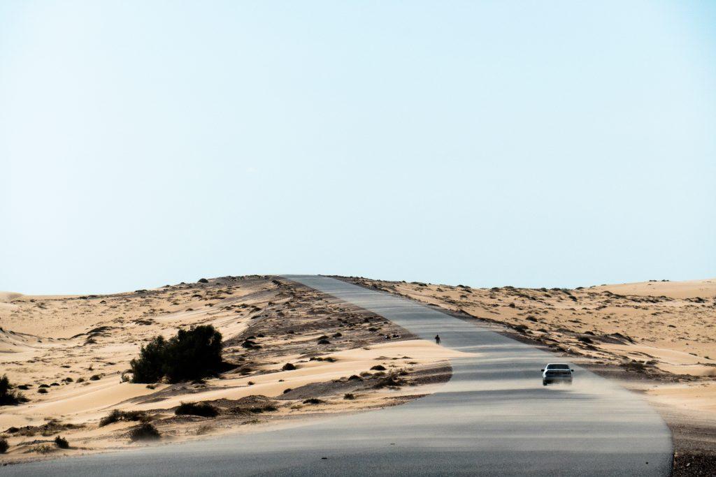 Zuidkant van Wahiba Sands