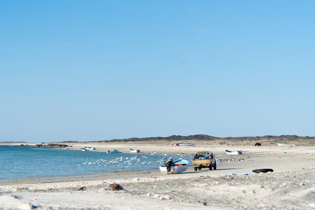Vissers op Masirah Island.