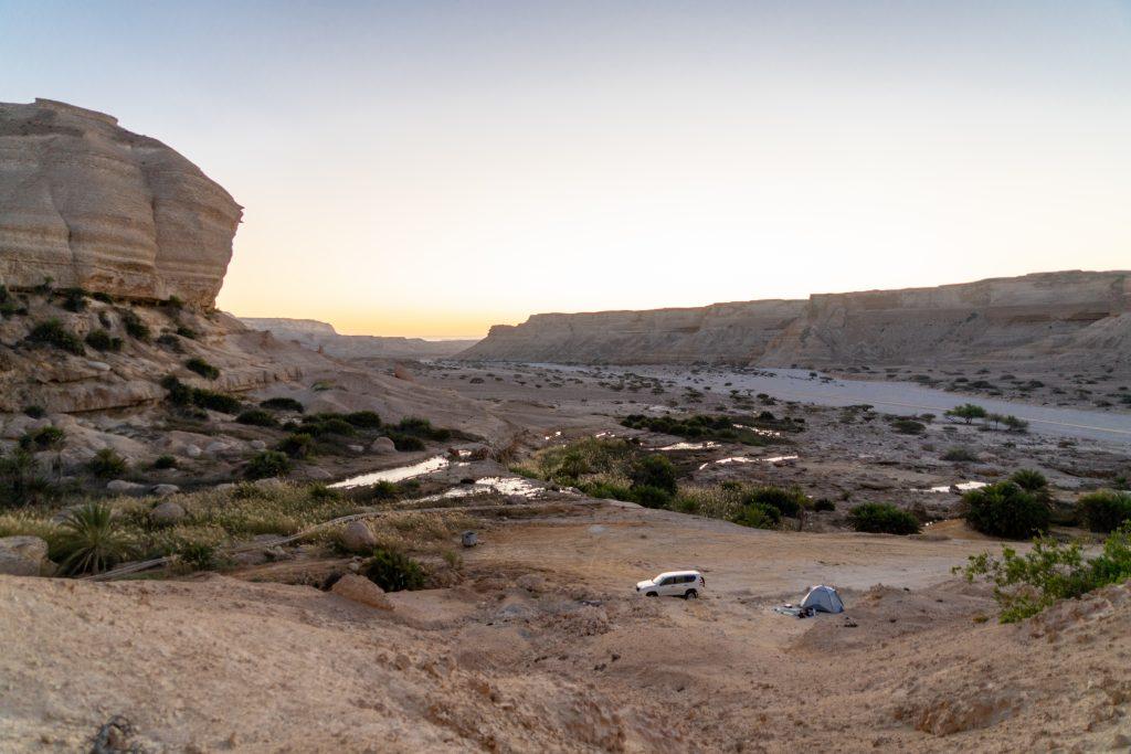 Reisroute Oman - Wadi Ash Shuwaymiyyah