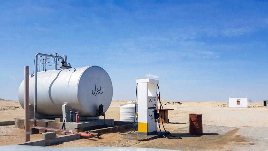 De Rub al Khali - Het Lege Kwartier - Het laatste tankstation in Shisur