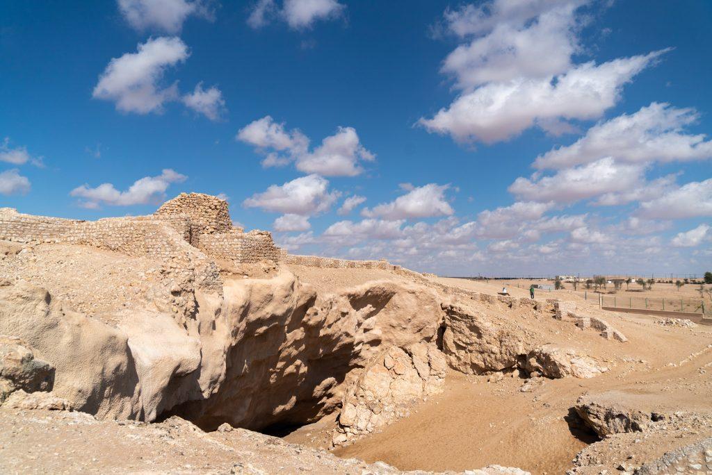 """De Rub al Khali - Het Lege Kwartier - Het zinkgat waarin """"Ubar"""" ten onder ging."""