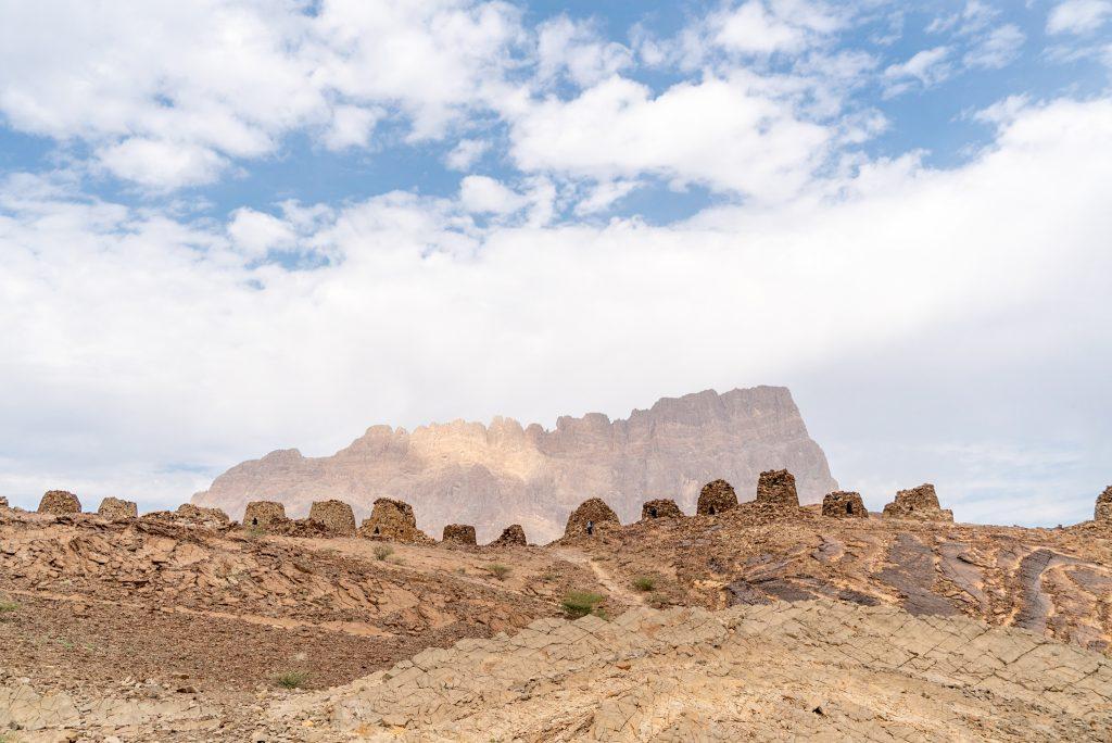 Bijenkorftombes vlakbij Wadi Damm