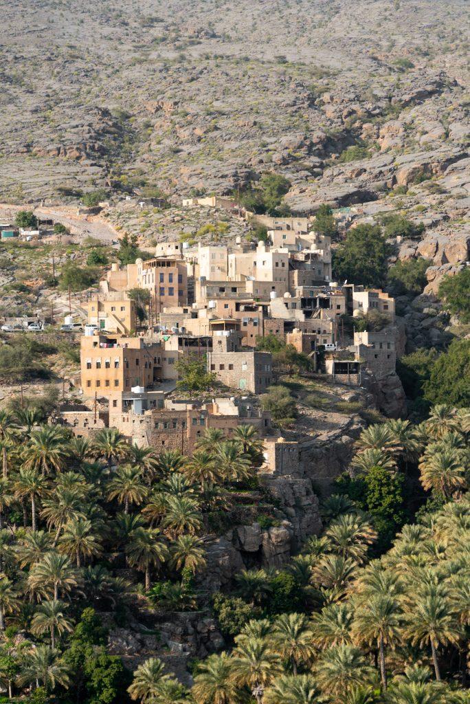 Reisroute Oman - Misfat al Arbayeen