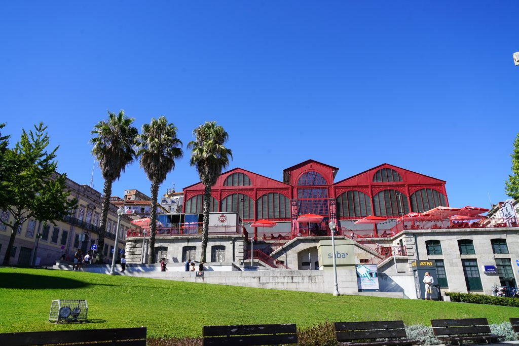 Drie dagen in Porto - Mercado Ferreira Borges