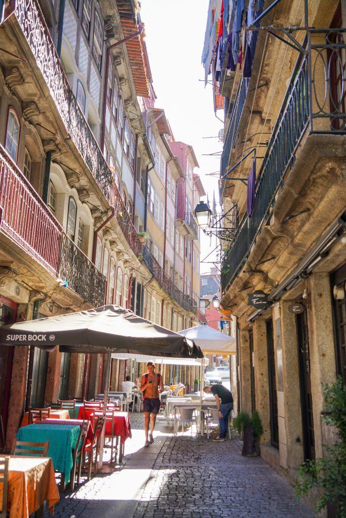 Drie dagen in Porto - Slenteren door de straatjes van Ribeira.