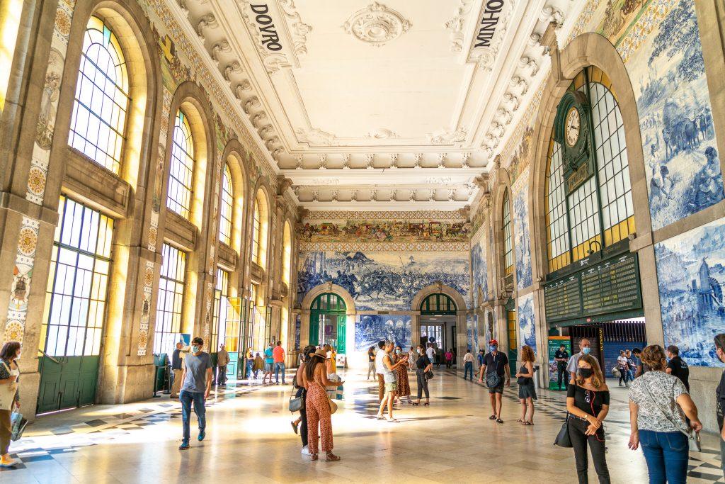 Drie dagen in Porto - Station São Bento