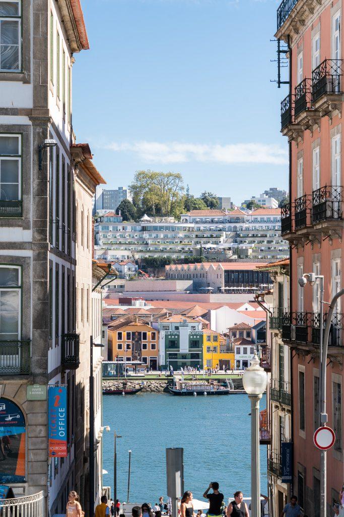 De wijk Ribeira, Porto