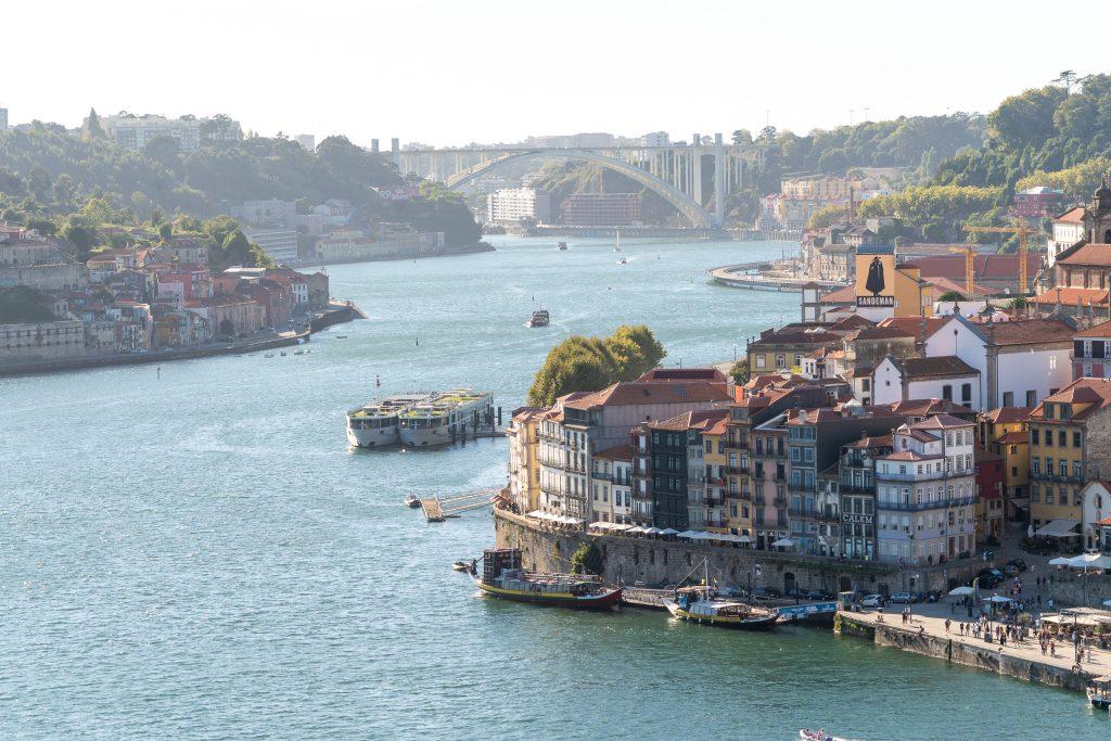 Douro rivier, Porto