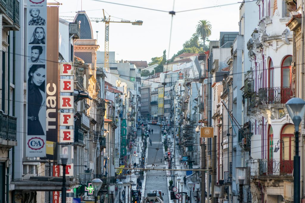 Vroege ochtend in Porto