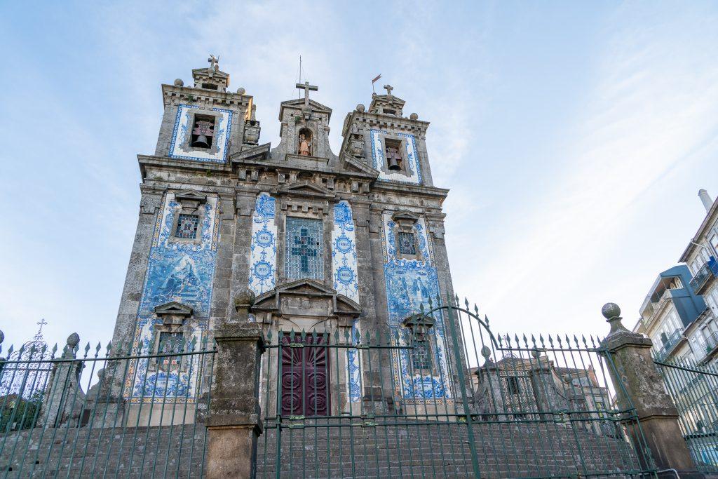 Drie dagen in Porto - Igreja do Santo Idelfonso