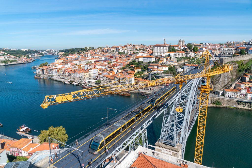 Drie dagen in Porto - De binnenstad vanaf Miradouro da Serra do Pilar