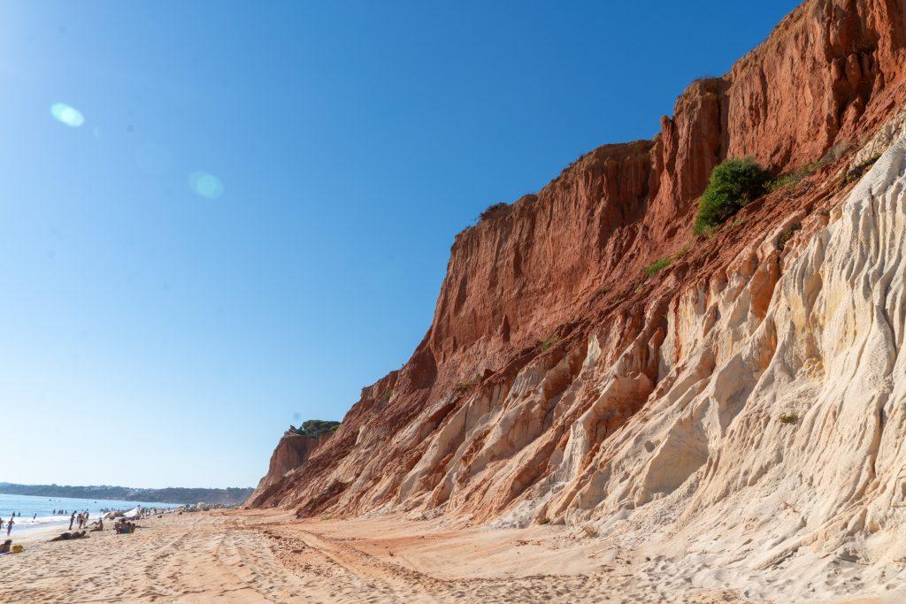 De Algarve vanuit Sagres - Praia da Falésia