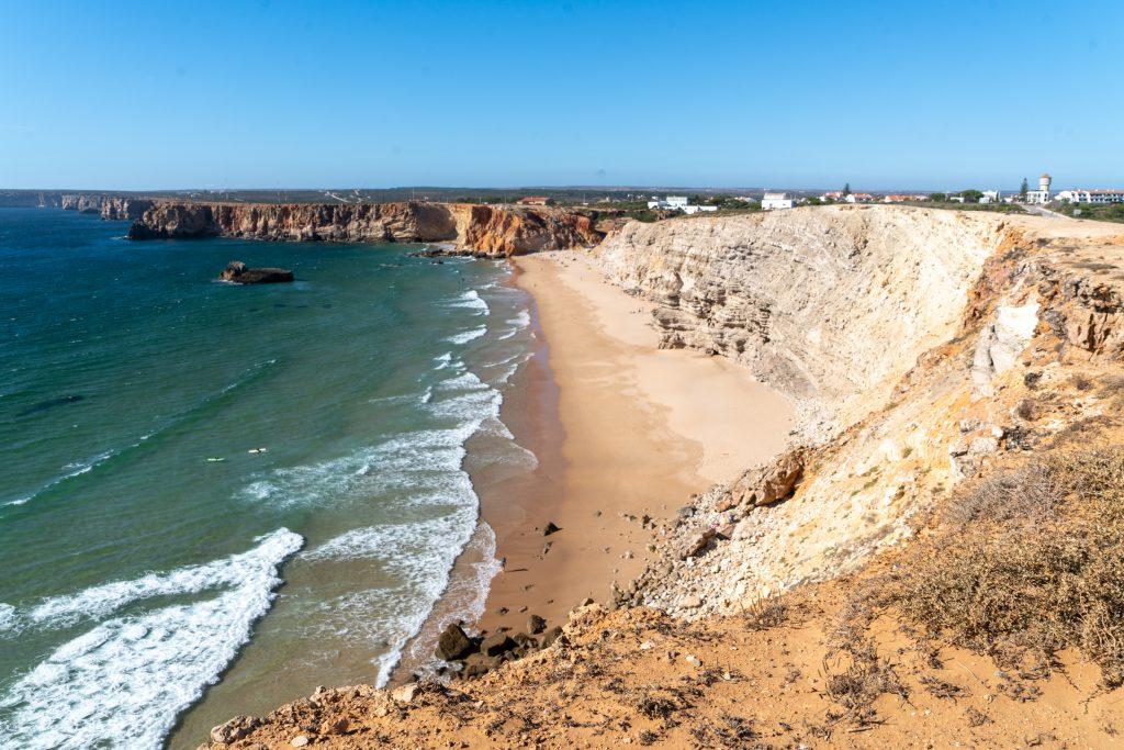 De Algarve vanuit Sagres - Praia do Tonél, Sagres