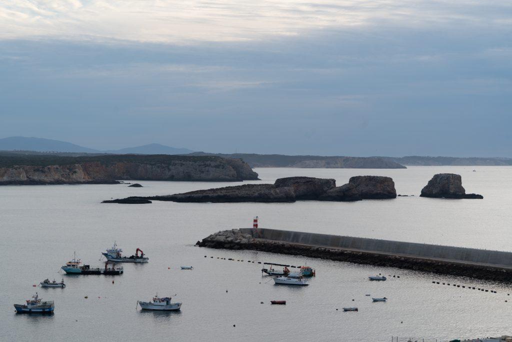 De Algarve vanuit Sagres - de haven van Sgares