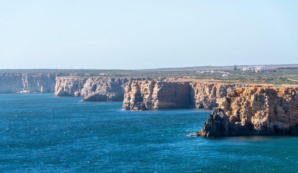 De Algarve vanuit Sagres - De kliffen van Sagres