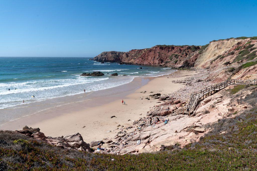 De Algarve vanuit Sagres -Praia Amado