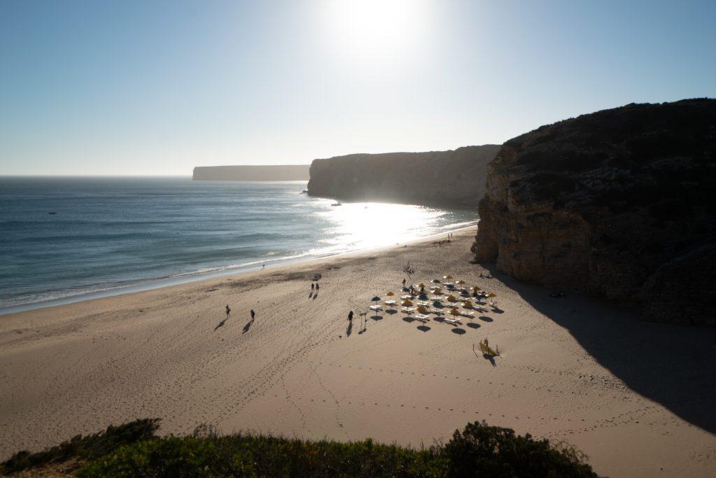 De Algarve vanuit Sagres - Praia do Beliche, Sagres