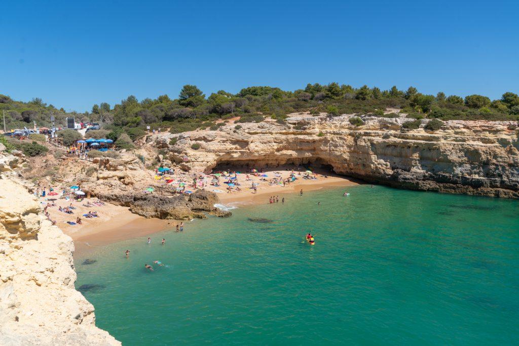 De Algarve vanuit Sagres - Praia de Albandeira, Carvoeiro